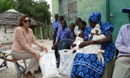 US gives food to hungry Oshana communities