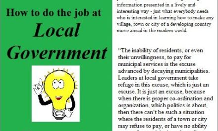 How to Do the Job at Local Government (2)