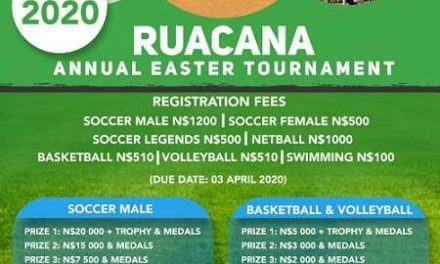 Ruacana Annual Easter Tournament