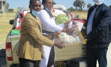 NCCI Eenhana donates food to Covid-19 in Ohangwena
