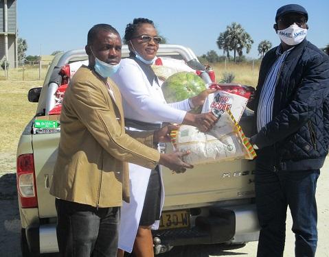 NCCI Eenhana donates food to Covid-19 in Ohangwena
