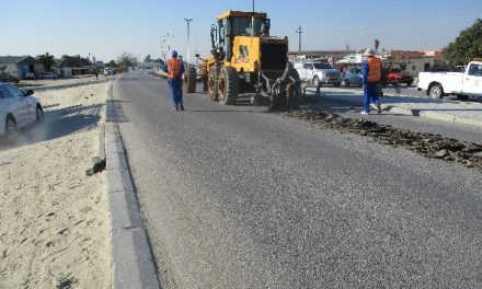 Roads Authority 'justifies' rehabilitation of road in Oshakati
