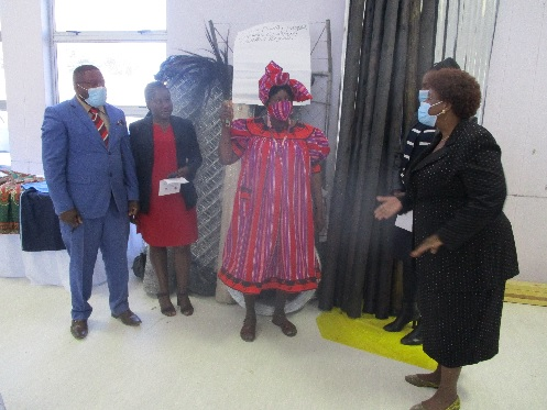 Ten Oshana income generating projects receive government support