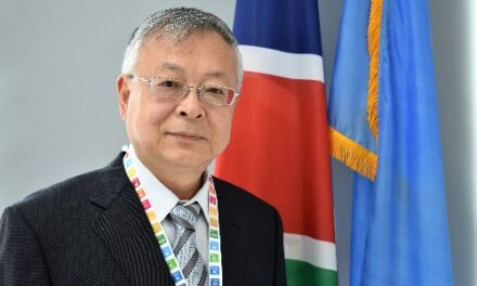 Sen Pang takes over at UN Namibia