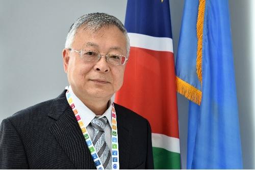 Sen Pang takes over at UN Namibia