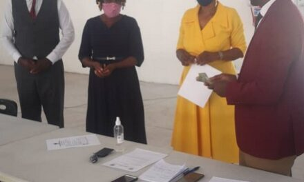 Ohangwena NCCI chips in for young lady's education