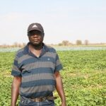Villager's life changed through Agriculture