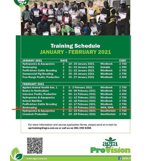 AgraProvision training