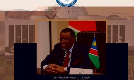 President Geingob's speech on Covid-19, Vaccines and Way Forward