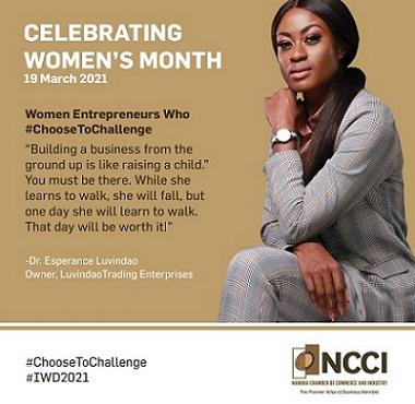 Women Entrepreneurs who ChooseToChallenge