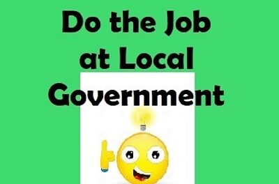 How to do the job at local government