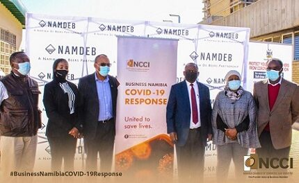 NCCI-led private sector coalition strengthens Namibia's oxygen supply
