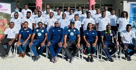 Oshana Regional Football trains local coaches