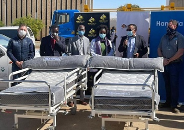 Business coalition delivers 100 repaired beds to Katutura Hospital