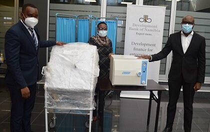 DBN donates equipment to Robert Mugabe Clinic