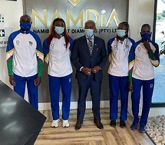 NAMDIA sponsors Namibia's National Olympic team