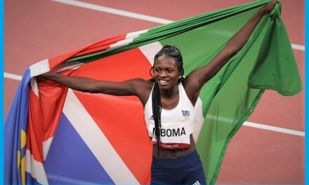 Mboma takes gold as Namibia stamps presence in world athletics