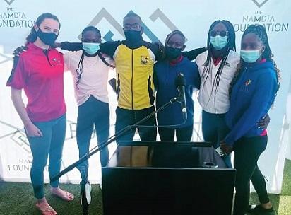 NAMDIA sponsors Athletics Namibia's Nairobi games