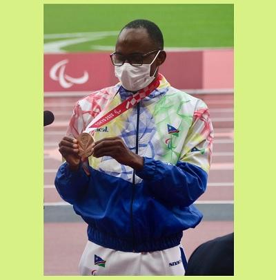 Namibia shines at Paralympics as at Olympics