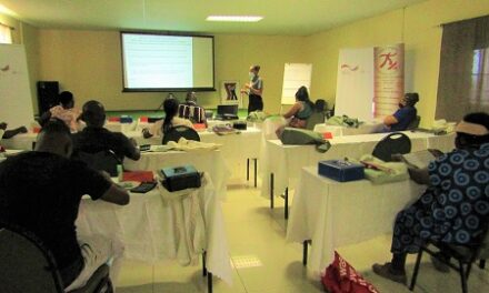 Pitching for Resilience underway in Omusati