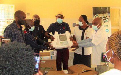 Shipanga Medical Services donates equipment to St. Martins Oshikuku Hospital