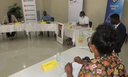 Business Resilience grant programme underway in Okahao
